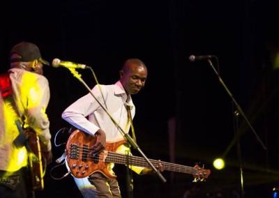 Enock Piroro bassman extraordinaire